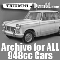 Triumph Herald Archive and Database