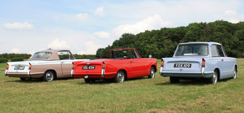 948 Triumph Herald Coupe, Convertible and Saloon