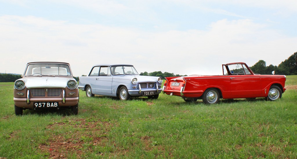 Triumph Herald Coupe, Saloon and Convertible