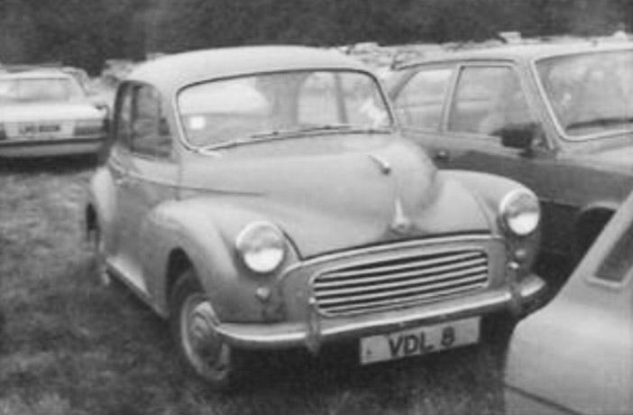 vdl8 Morris Minor
