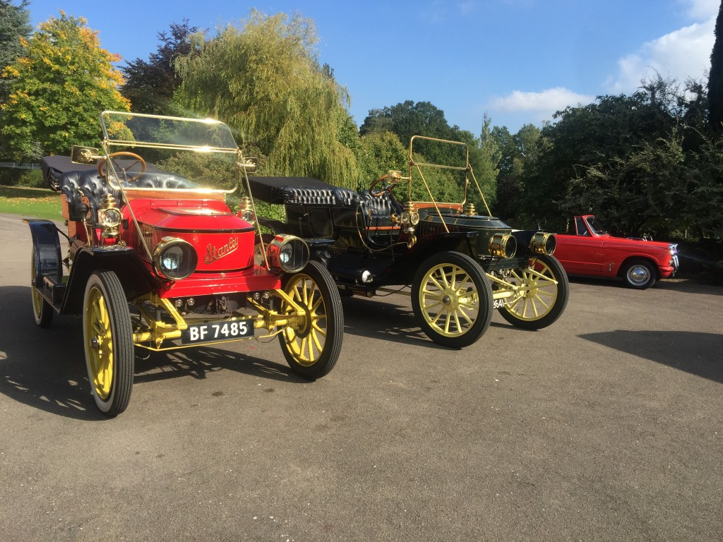 Steam Cars and Triumph Herald