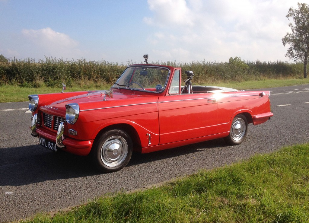 Triumph Herald Camera Car