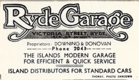 Downing and Donovan (Ryde Garage)
