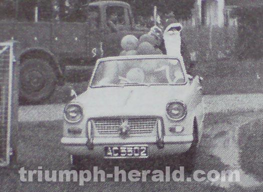Triumph Herald Convertible