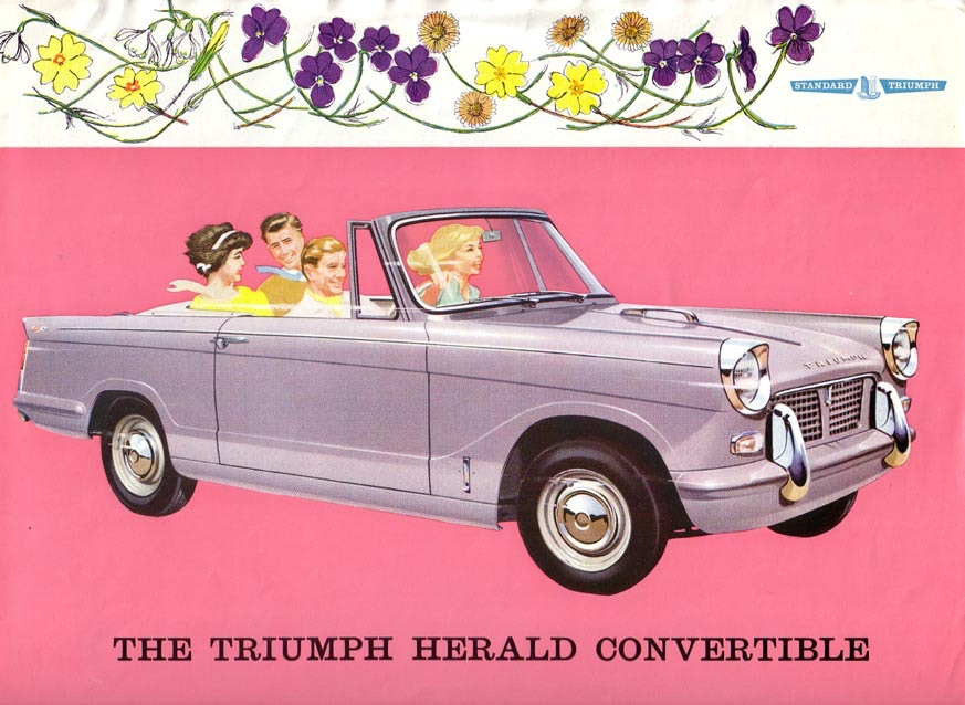 Original artwork/publicity brochure for the Convertible