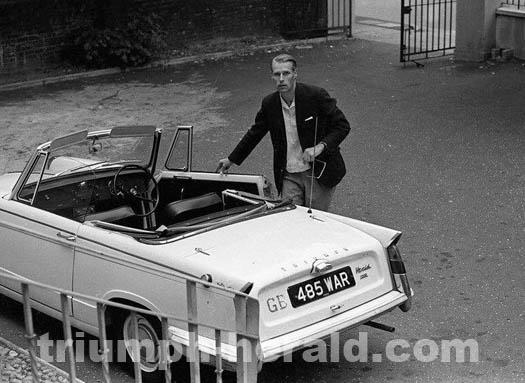 George Martin Triumph Herald
