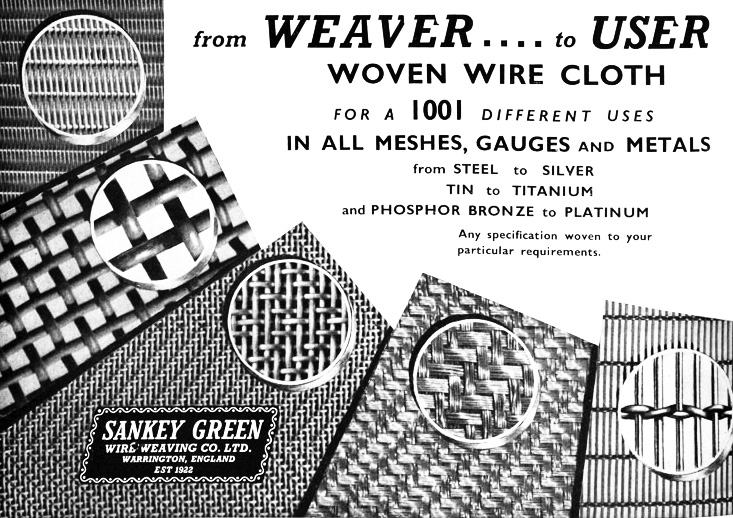 Sankey Green Wire Weaving Co