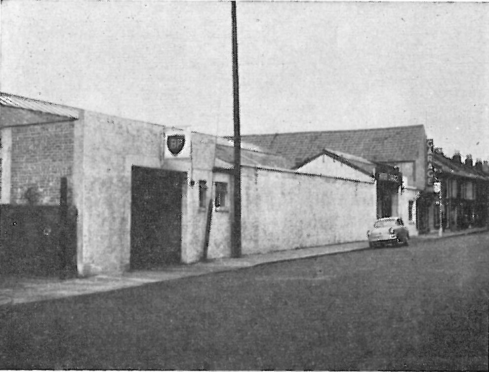 Kings Garage, Exmouth Road Southsea 1958