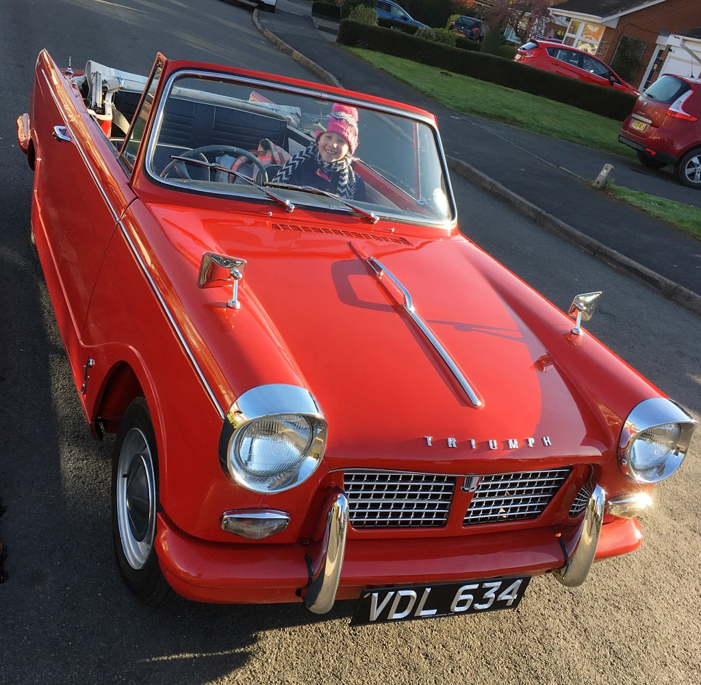 School Run Triumph Herald